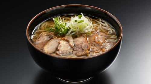 冷たい肉そば(季節限定)